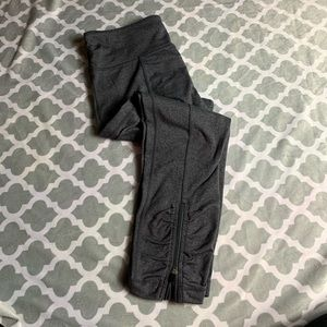 LULULEMON Grey Capri Leggings